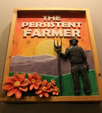 Custom Made Custom Farm Signs | Farmer Signs | Carved Farm Signs | Custom Wooden Signs