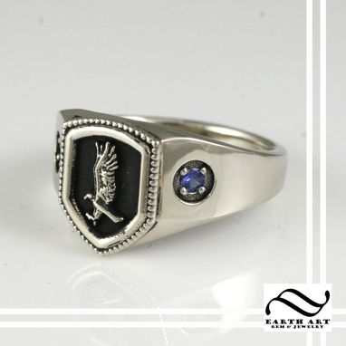 Custom Made Ravenclaw House Ring, Harry Potter Inspired