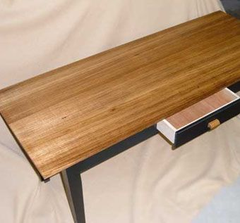 Custom Made Zebra Wood Coffee Table