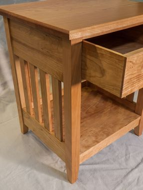 Custom Made Cherry Shaker Nightstand