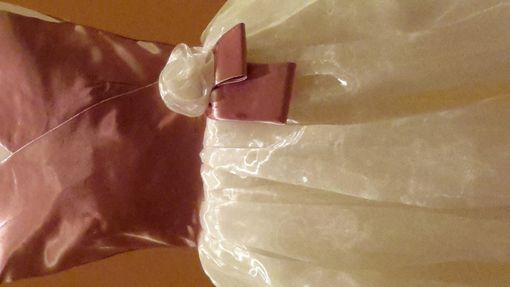 Custom Made Roslyn: An Elegant Organza And Shantung Fabric Dress For Every Special Occasion