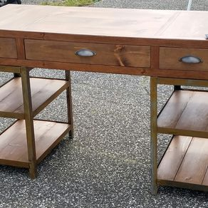 Industrial Desk industrial desks | custom office and computer desks | custommade