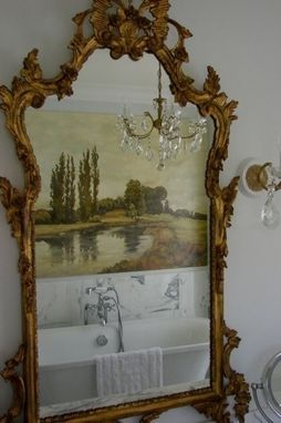 Custom Made Traditional French Country Landscape Painting