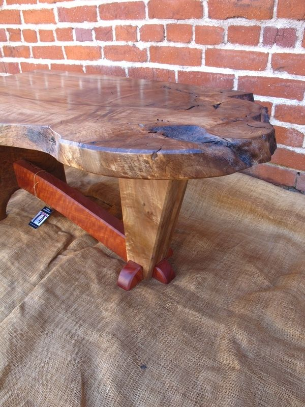 Hand Made Walnut And Red Gum Eucalyptus Coffee Table by Sierra ...