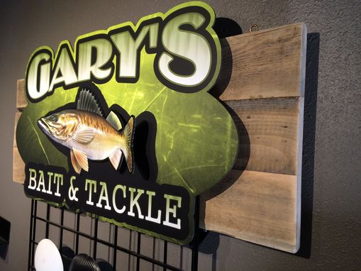 Custom Made Bait & Tackle Sign