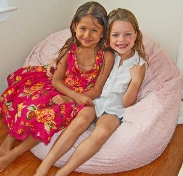 Custom Made Custom Washable Bean Bag Chairs: 37 Inch Wide (Virgin Bead Fill)
