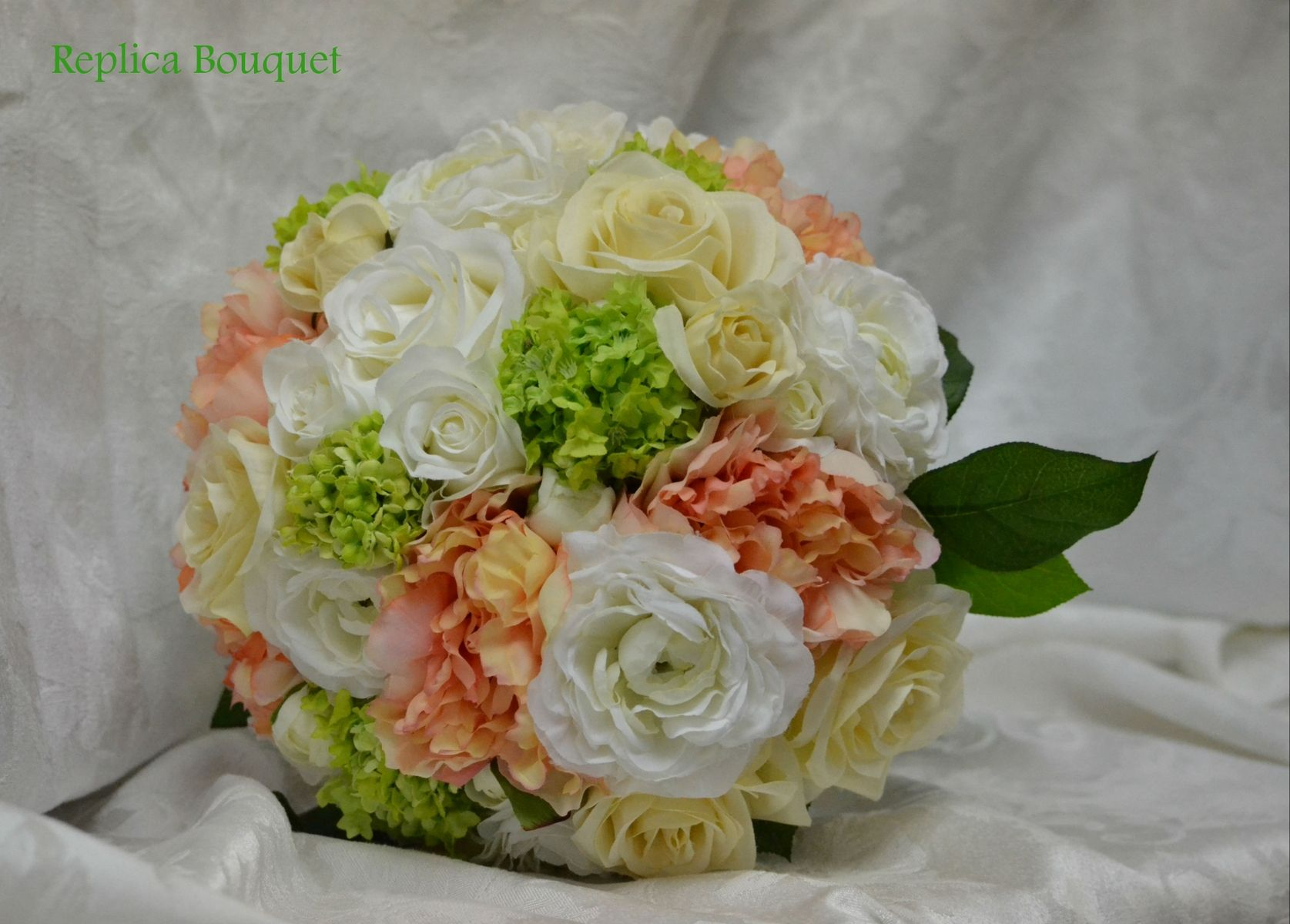 Custom bridal bouquet replica by duchess florals custommade custom made bridal bouquet replica solutioingenieria Images