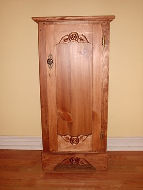 Custom Made Wood Cupboard, Kitchen Cupboard, Canning Cupboard