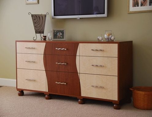 Custom Made Bedroom Side Board Entertainment Unit