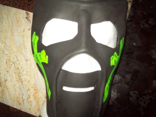 Custom Made Mask For Pro Wrestling Kinda Like The One Kane Used In Wwe In 1997