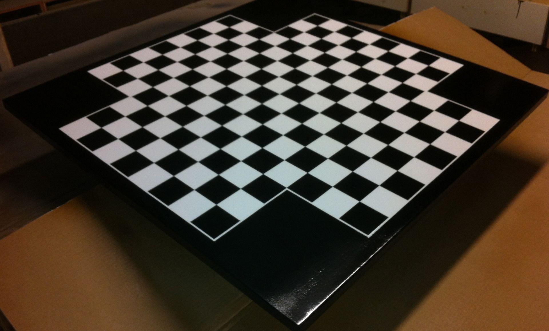 Handmade 4 Player Chessboard By Endless Design Custommade Com
