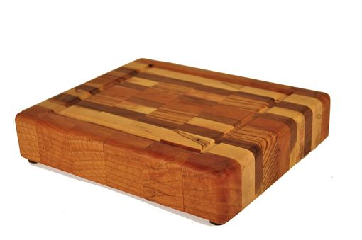 Custom Made Small Checked Chopping Block
