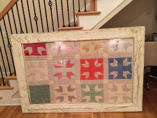 Custom Made Dana Salters' Shadow Box For A Vintage Quilt