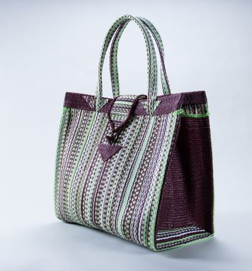 Custom Made Natte Bags-Square Tote