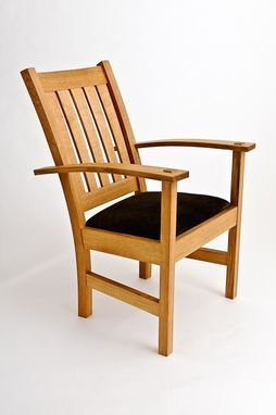 Custom Made Arts And Crafts Arm Chair