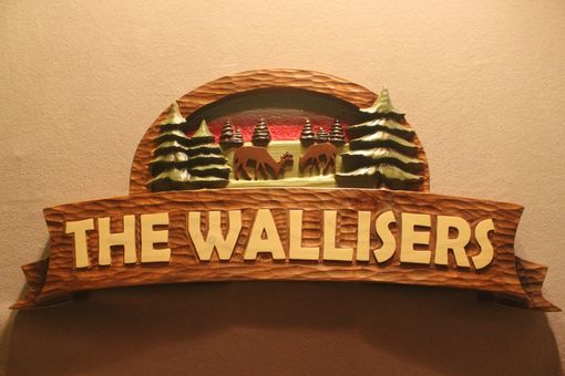 Custom Made Custom Carved Wood Signs, Cabin Signs, Cottage Signs, Deer Signs, Family Name Signs