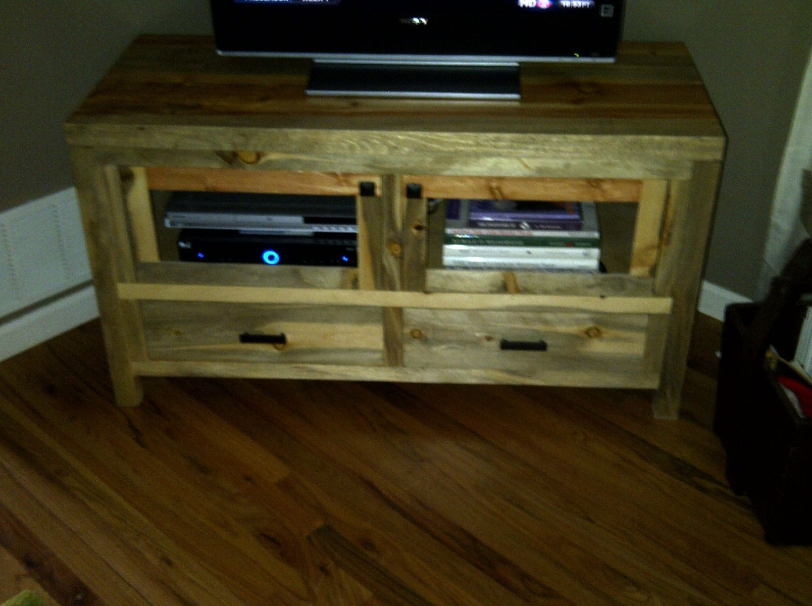 Custom made beetle kill pine tv stand by beack - Made com meuble tv ...