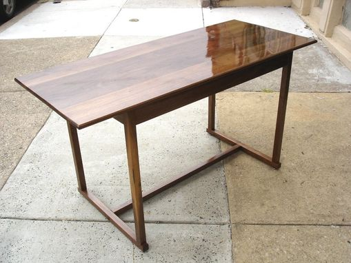 Custom Made Walnut Writing Desk Table