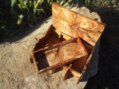 Custom Made Redwood Root Burl  Watch Box