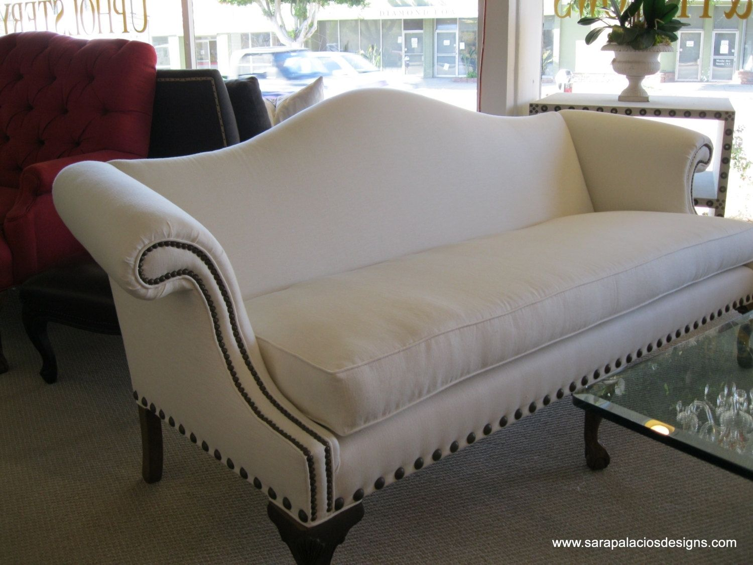 Custom Made Sofa Regency Style