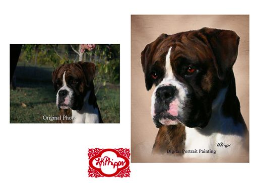 Custom Made Custom Pet Portrait