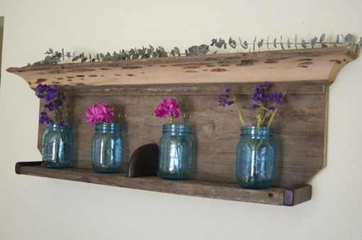 Custom Made Wooden Shelf