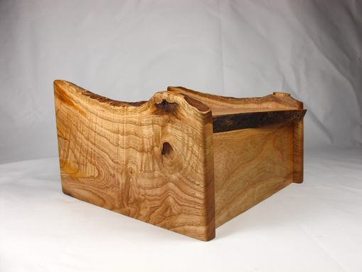 Custom Made Reclaimed Oak And Chestnut Jewelry Box