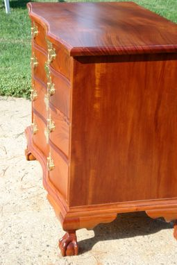 Custom Made Chippendale Chest Of Drawers