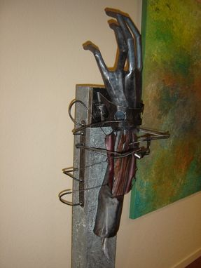 Custom Made Sculpture Arm Abstract