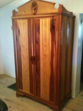 Custom Made Cedar Armoire