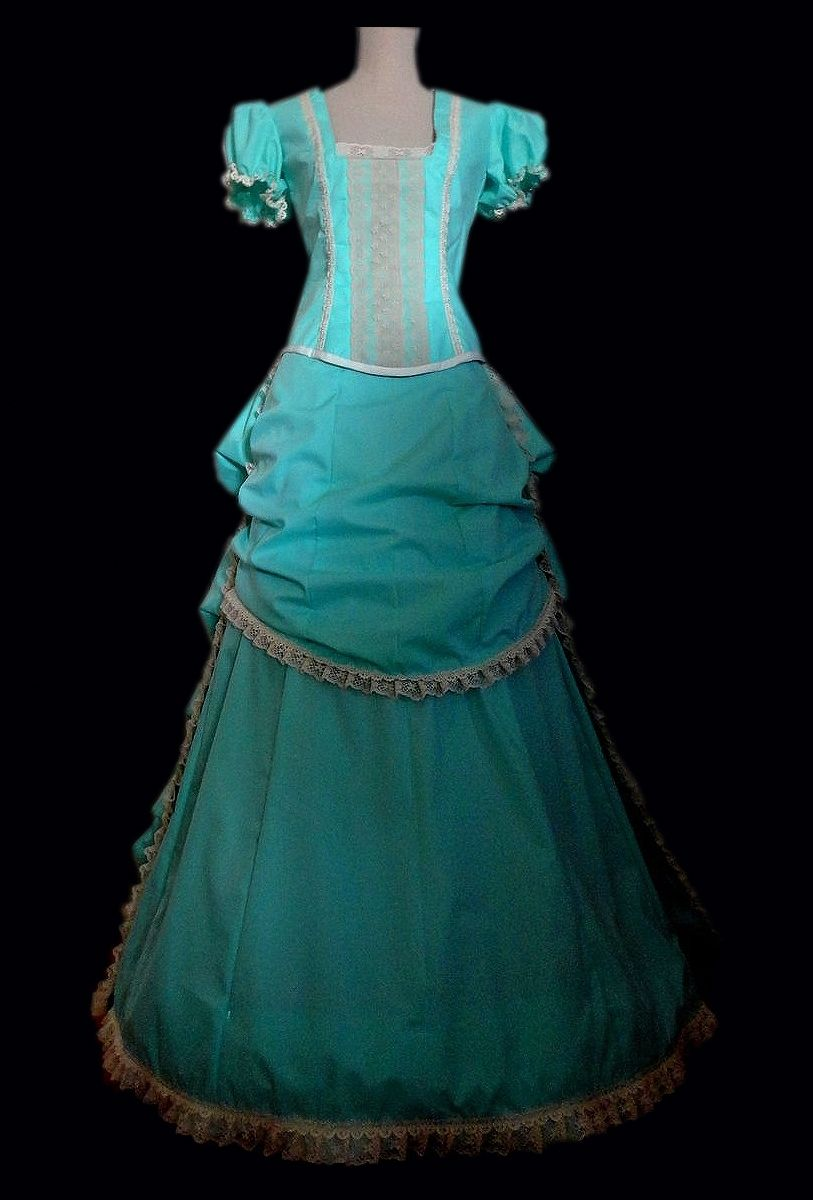 Custom Made Late 1800 S Bustle Style Ball Gown Or Wedding Dress