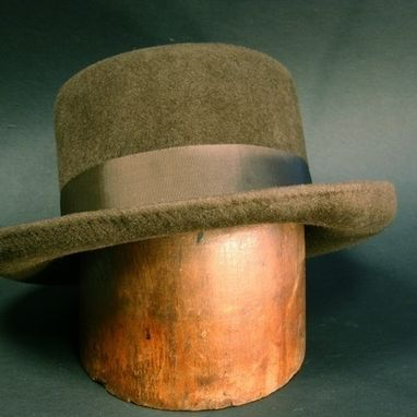 Custom Made Doc Holiday Brown Hat