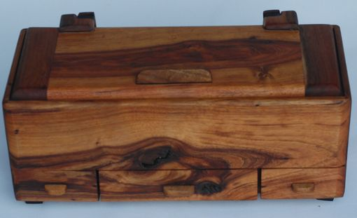 Custom Made Koa Box