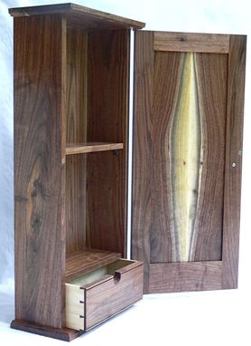 Custom Made Hanging Wall Cabinet