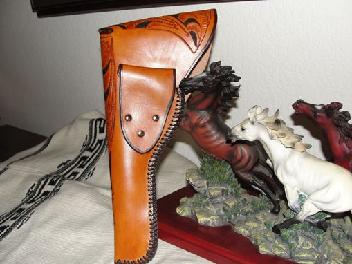 "Custom Made Holster For .22 High Standard ""Sportking"" Automatic 6 3/4"" Barrel"