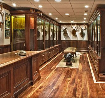 Hand Made Gun Cabinet Trophy Room By Cabinetmaker Birdie