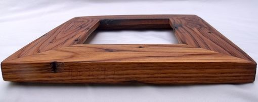 Custom Made Reclaimed Wormy American Chestnut Picture Frames