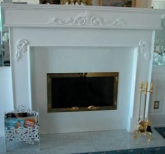 Custom Made Fountain Hills Fireplace Mantle & Surround