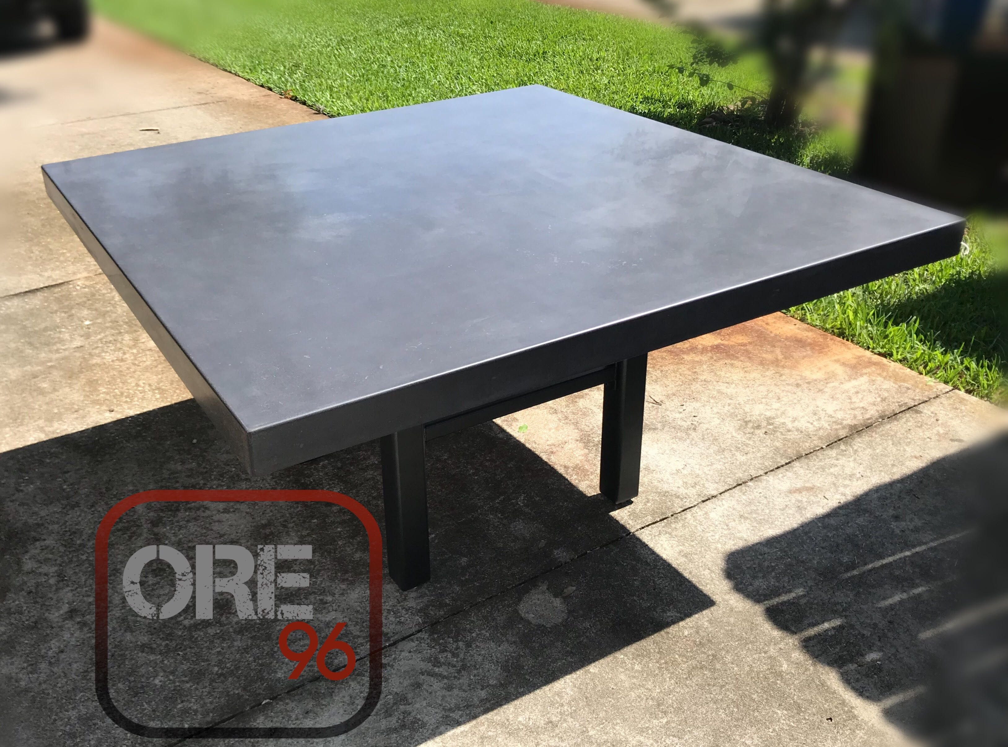 Custom Made Concrete Table By Ore CustomMadecom - Custom made concrete table