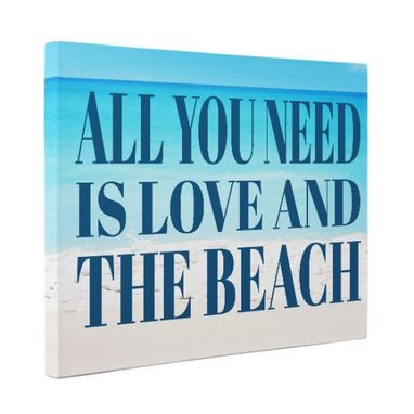 Custom Made All You Need Is Love Canvas Wall Art