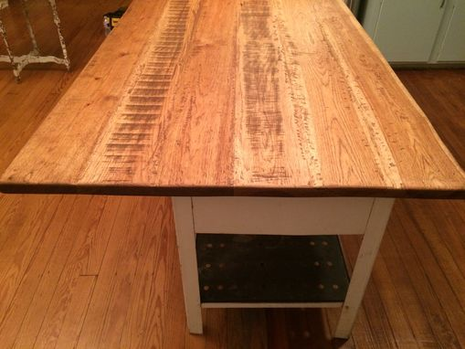 Hand Crafted Custom Wide Plank Hickory Countertop By Cha0s