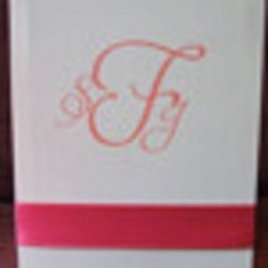 Custom Made 100 Custom Wedding Programs Accordian Folded Style With Ribbon Accent On Front And Back Cover
