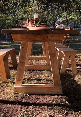Custom Made Modern Farmhouse Table