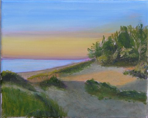 Custom Made Michigan Dunes - 5 X 7 Greeting Card Print