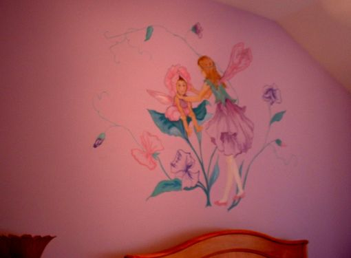 Custom Made Fairy-Tale Mural