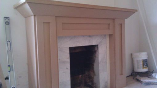 Custom Made Custom Fireplace