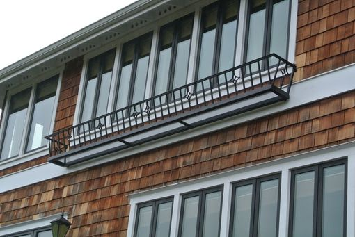 Custom Made Hand Rails And Balconies