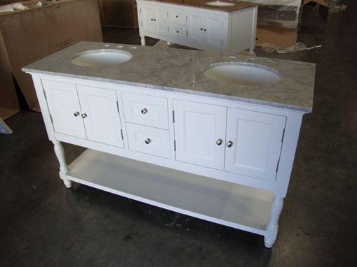 Custom Made Custom Made Bath Vanities & Wrought Iron Doors