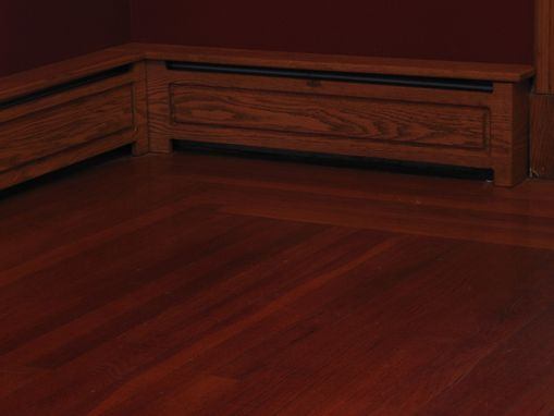 Custom Baseboard Radiator Cover by Woodwright Innovations ...