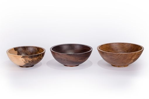 Custom Made Handcrafted Wooden Salad Bowls